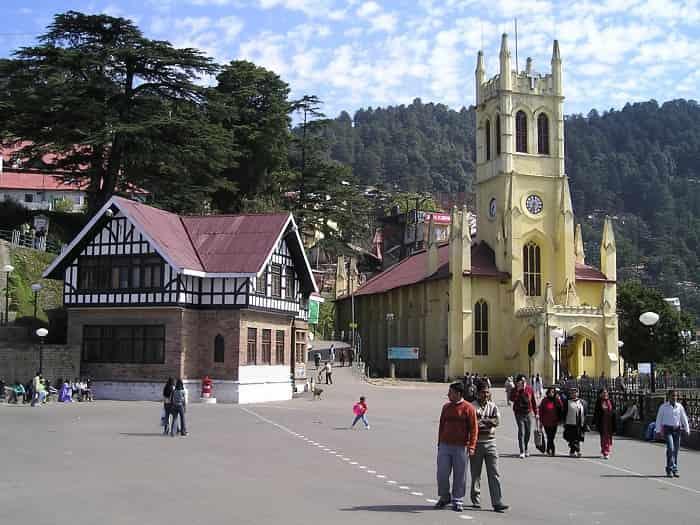 Christ Church at Shimla