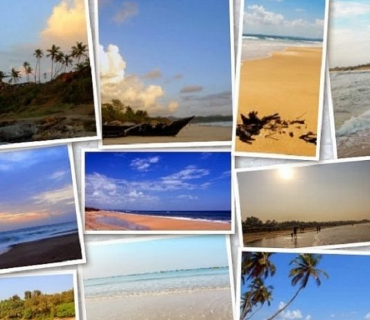 Famouse Beaches in Goa