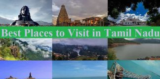 Tamil Nadu Tourist Attractions