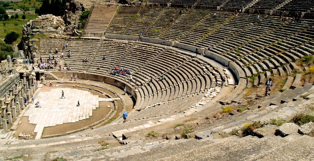 Ancient Amphitheatre in Turkey