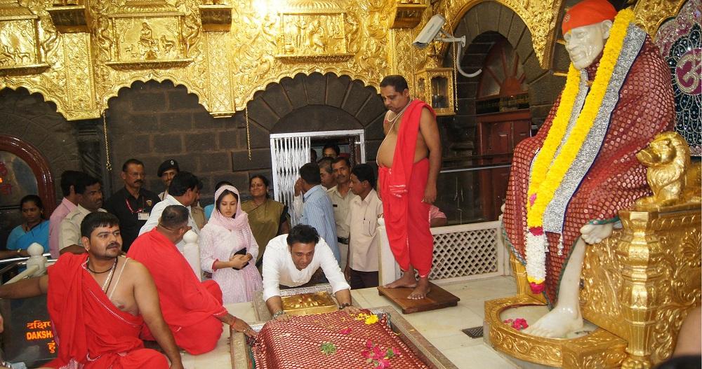 Sai Baba Temple in Shirdi