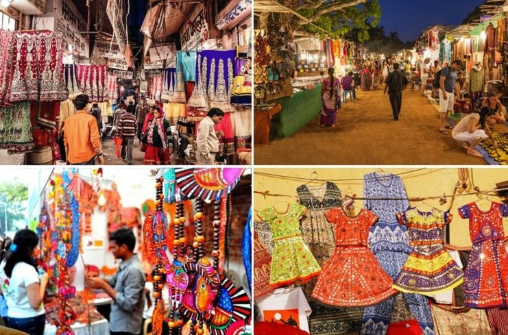 Street Shopping Destinations in India