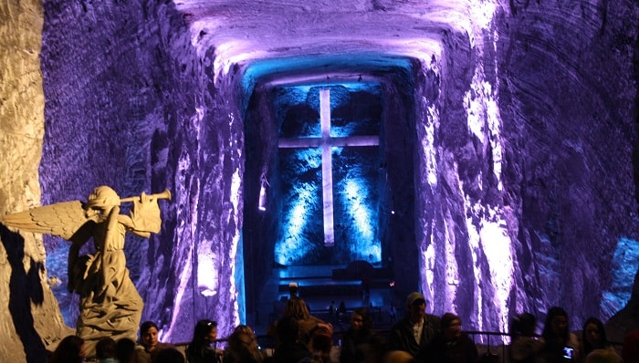 Salt Cathedral of Zipaquira, Colombia
