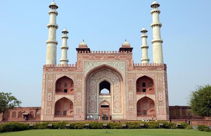 Akbars Tomb at Sikandra