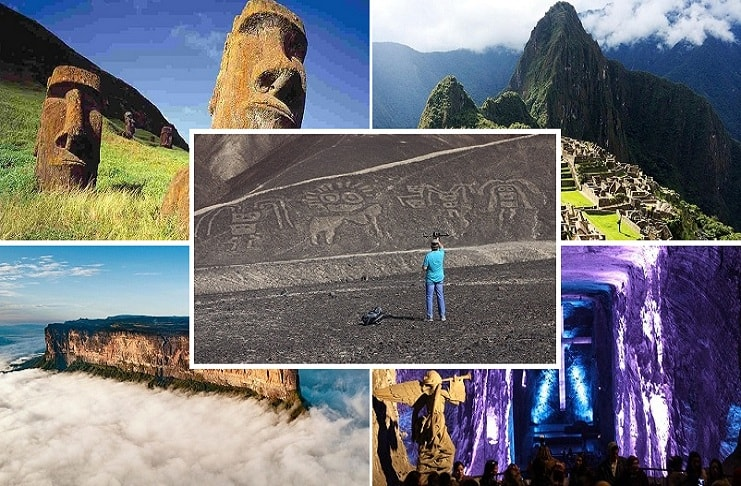 Mysterious Places in South America