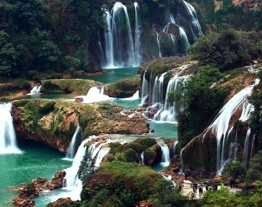 Waterfalls in Vietnam