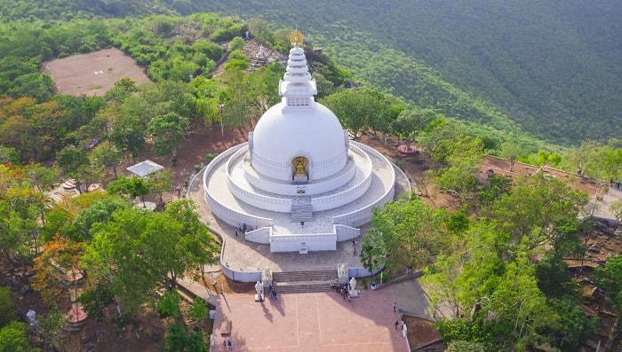 Vishwa Shanti Stupa, Rajgir