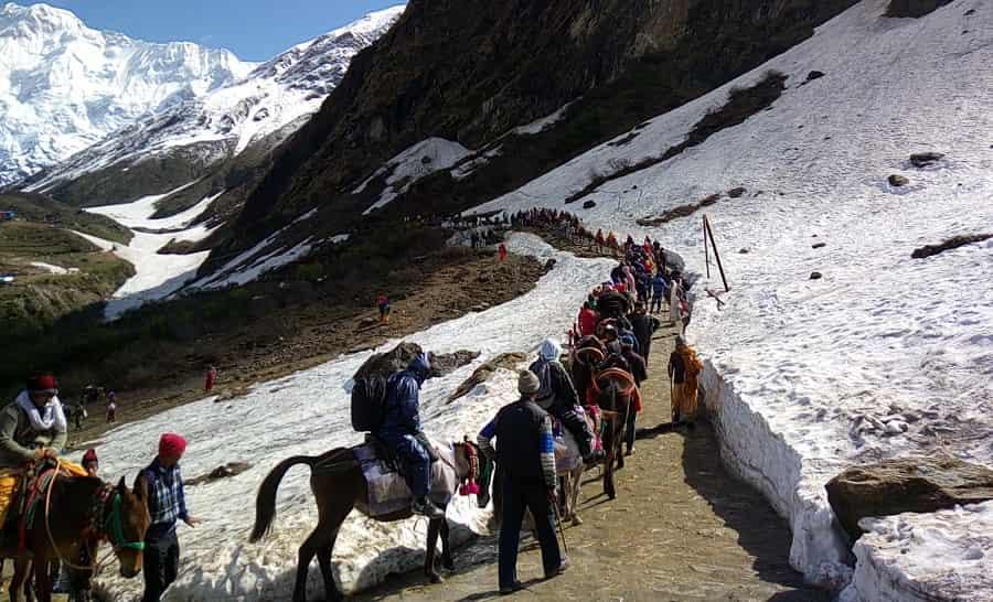 kedarnath snow trek