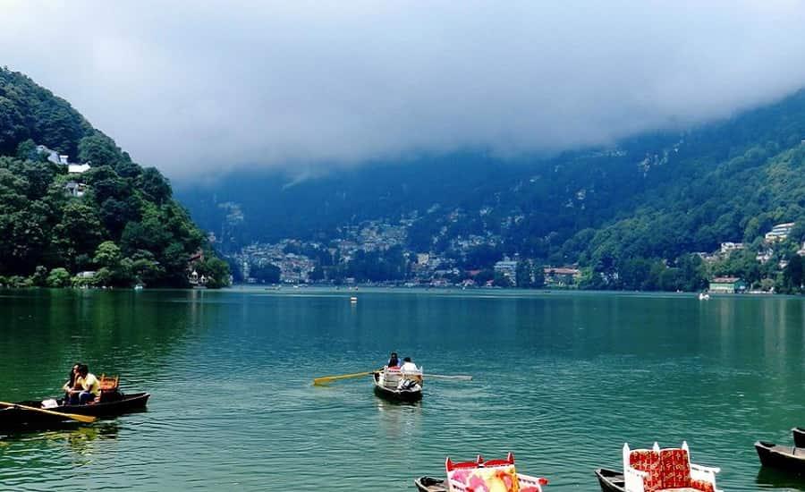 Boating at Naini Lake, Nainital