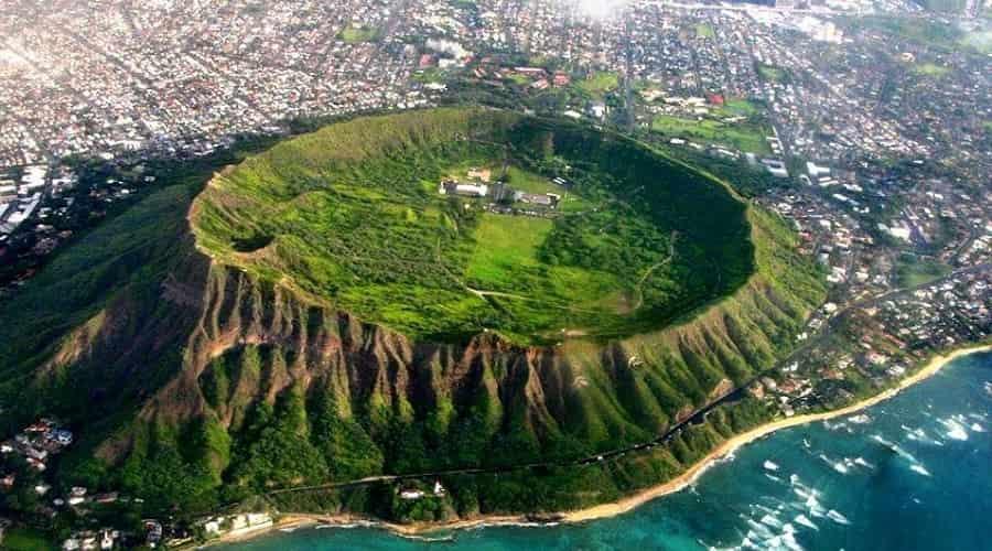 Diamond Head, Ohau, Hawaii