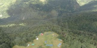 Drone view of Chopta