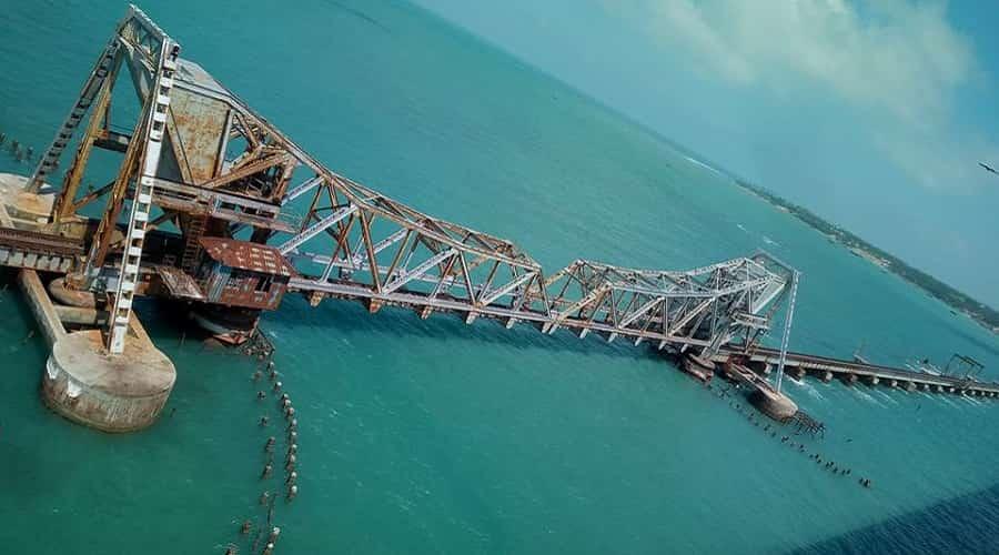 Pamban Bridge, Rameswaram, Tamil Nadu