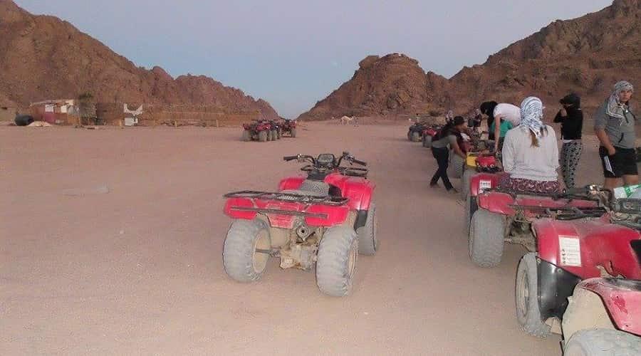 Quad Biking In the Sinai Desert