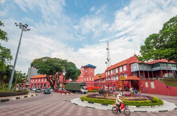 Melaka and George Town