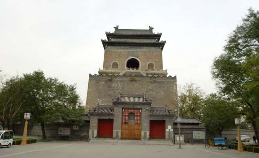 The Bell Tower in Hutongs