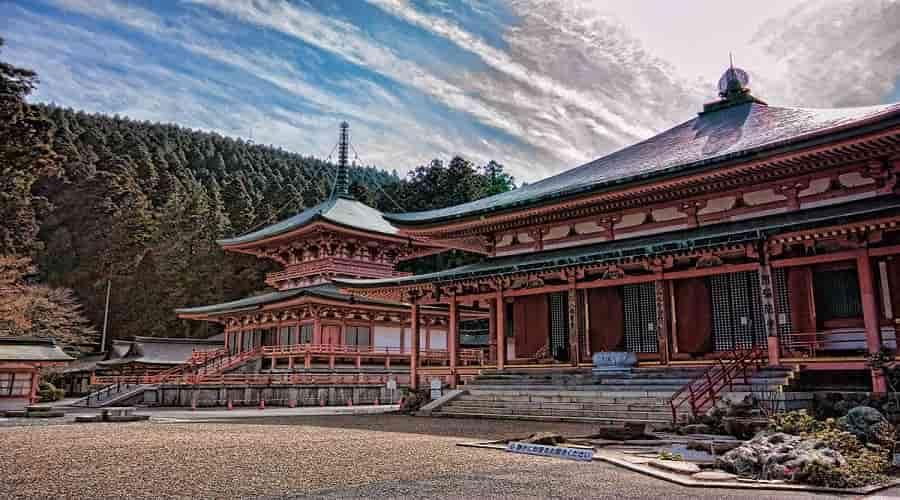 Enryaku-ji A Monastery, Kyoto