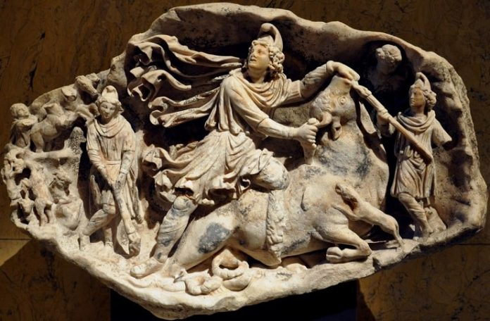 Relation Between Temple of Mithras and Christianity