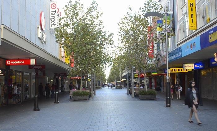 Hay Street and Murray Street