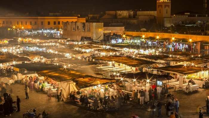 Marrakech Night Market, Morocco