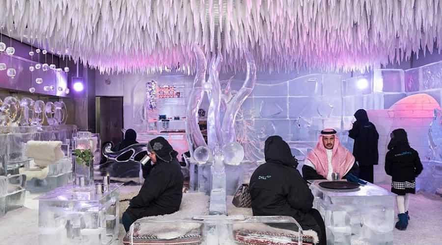 Chillout Ice Lounge, Dubai
