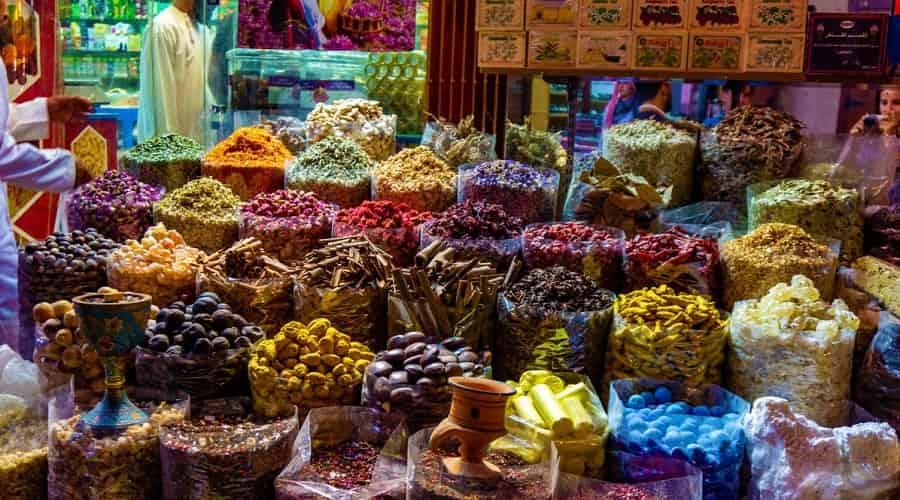 Golden Souks and Spice Markets