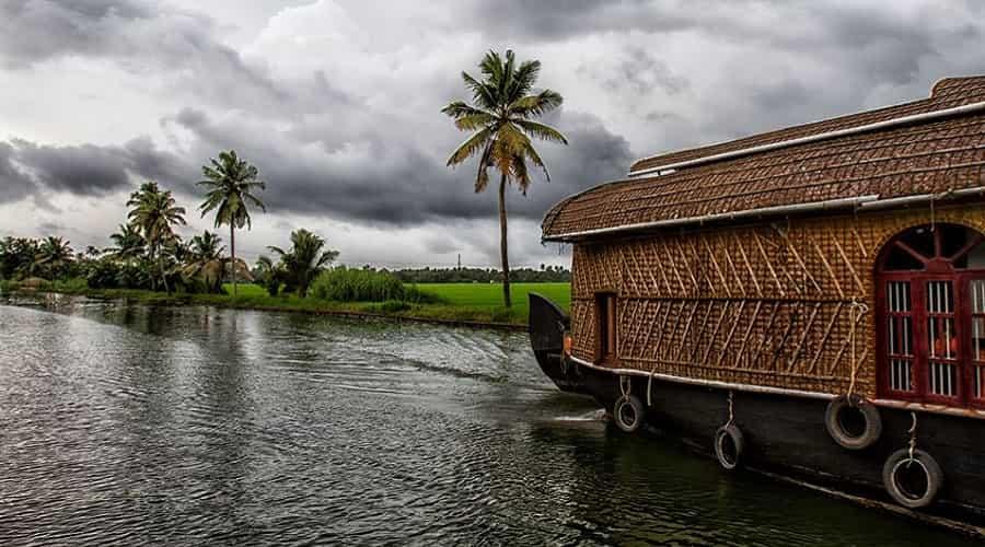 Kumarakom during Monsoon