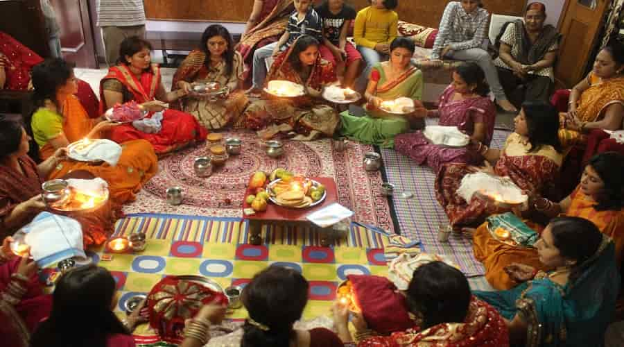 Karva Chauth Celebration