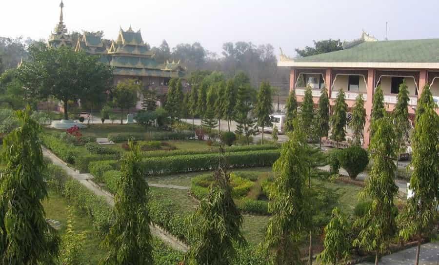 Myanmar Monastery in Bodhgaya