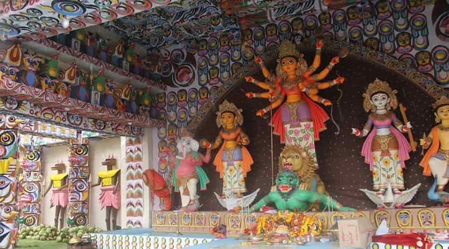 Manicktala Chaltabagan Lohapatty Durga Puja