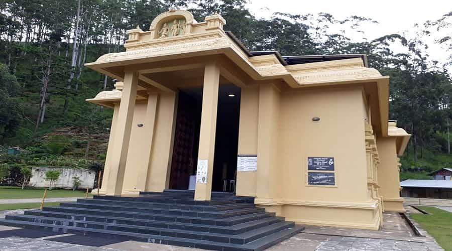 Shri Bakta Hanuman Temple - Ramboda