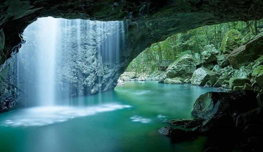 A Hidden Waterfalls of Thailand