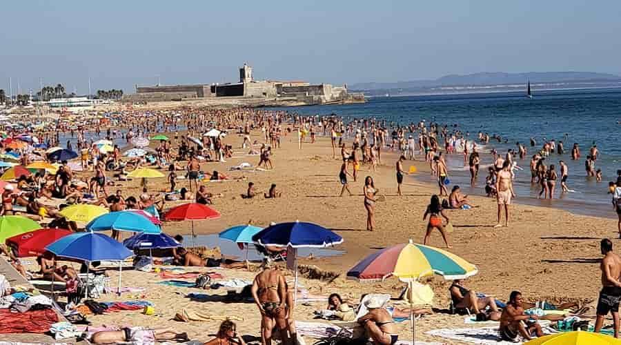Carcavelos Beach in Lisbon