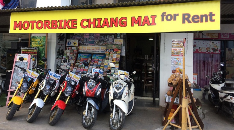 Motorbike Chiang Mai for Rent