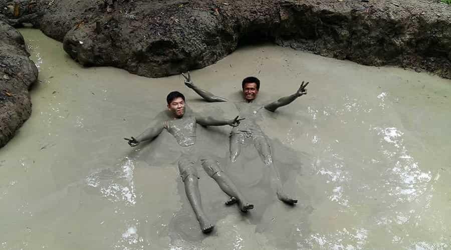 Mud Volcano Bath