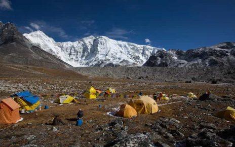 Nangpai Gosum Glacier