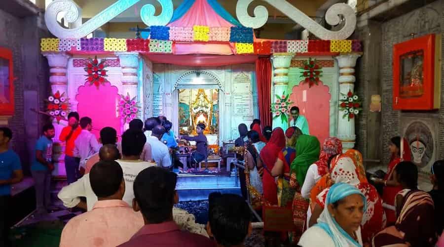 Navratri Puja at Chhoti Devkali Temple, Ayodhya