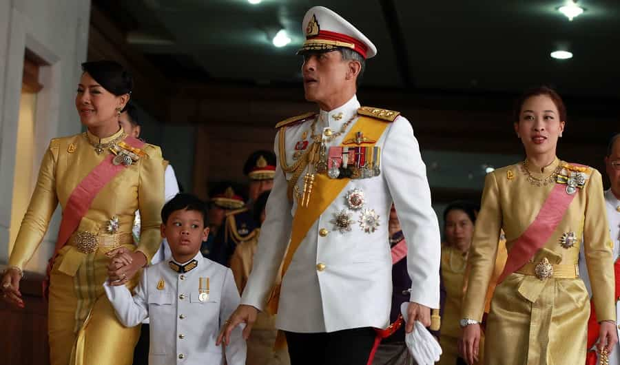 Thailand King Rama in Public Place