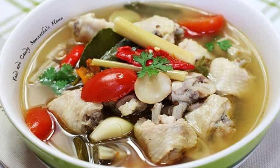 Tom Yum Gai, Spicy Chicken Soup
