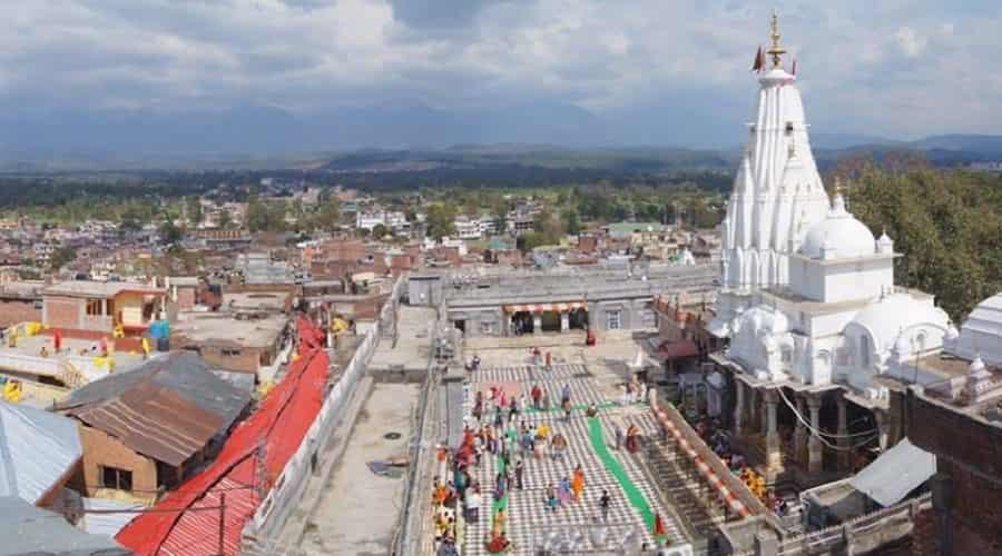 Bajreshwari Devi Temple, Kangra