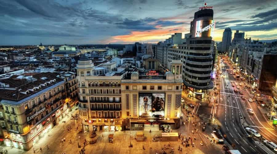 Callao Square, Madrid, Spain