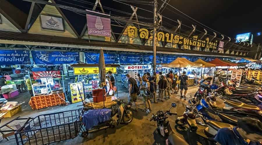 Night Bazaar of Chiang Mai
