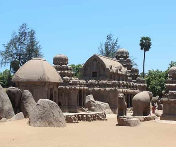 Panch Rathas, Mahabalipuram