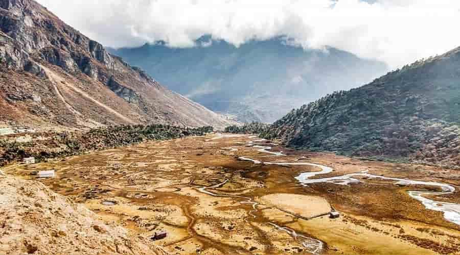 Chopta valley, sikkim
