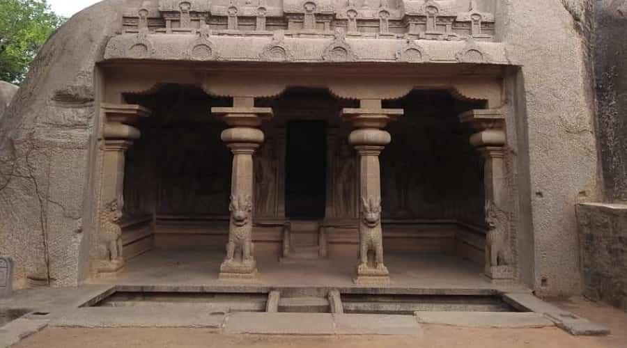 Dharamraj Cave In Mahabalipuram