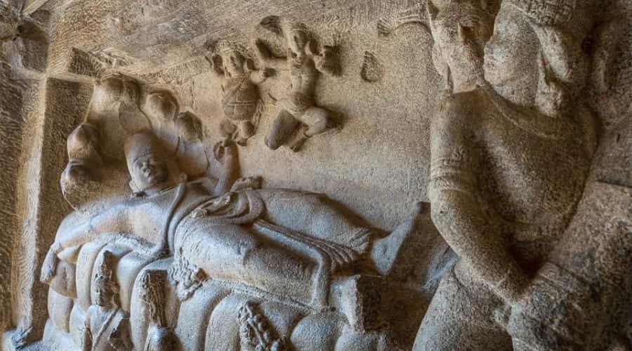 Mahishasuramardini Cave In Mahabalipuram