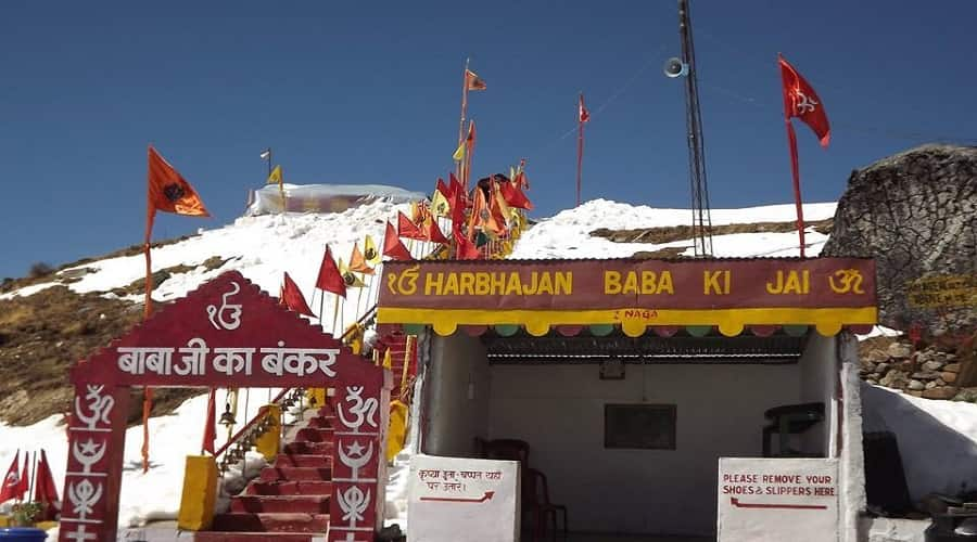 Nathu la pass, baba Harbhajan sing mandir