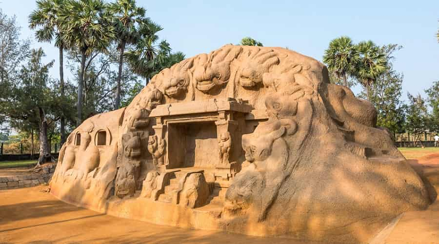 Tiger Cave In Mahabalipuram