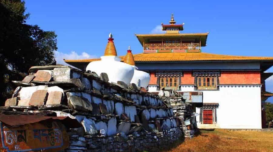 tashiding monastery, Yuksom