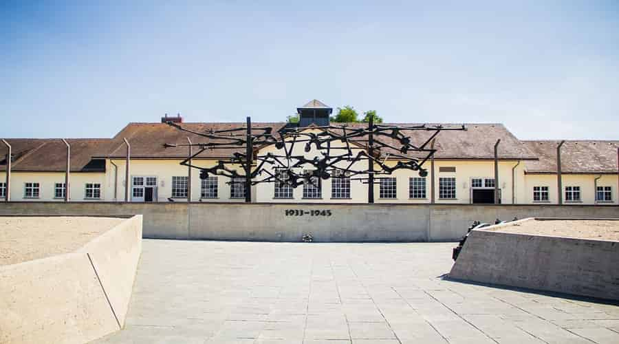 Memorial to the victims of the Dachau Concentration Camp