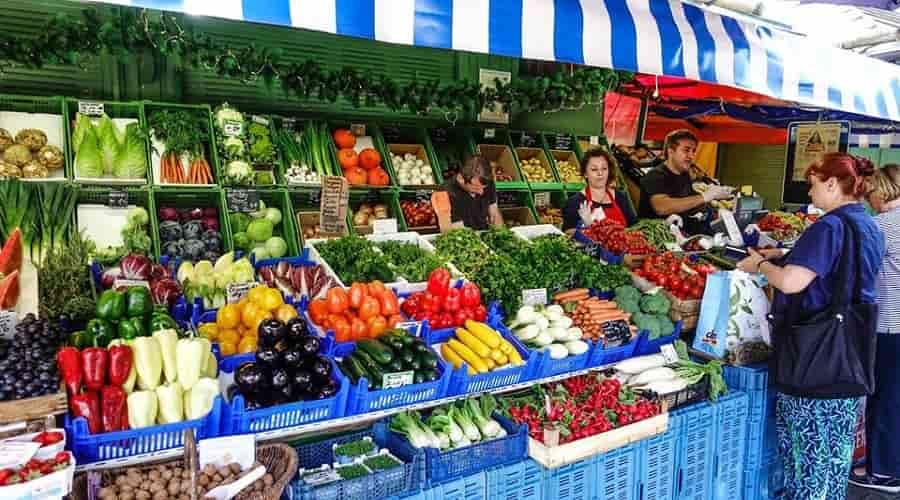 fresh produce at Viktualienmarkt